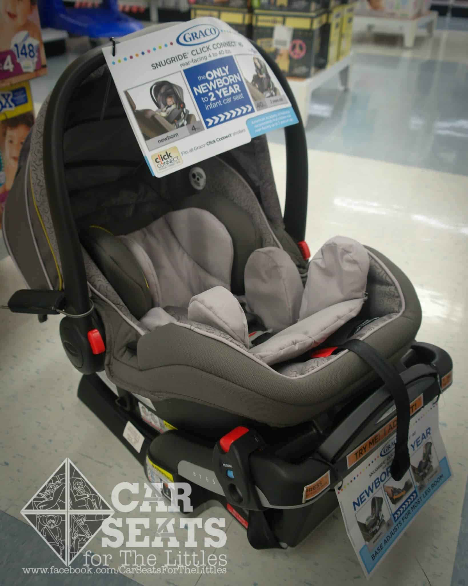 Car Seats For The Littles  Graco Rear Facing Only Seats  Whats