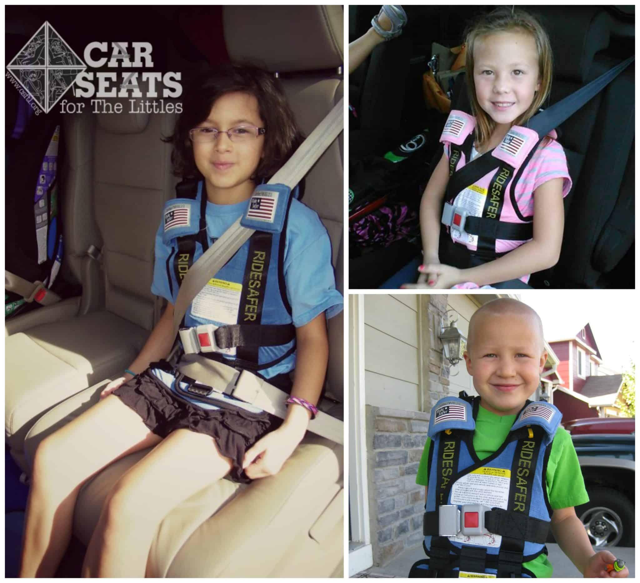 Car Seats For The Littles Ride Safer Travel Vest