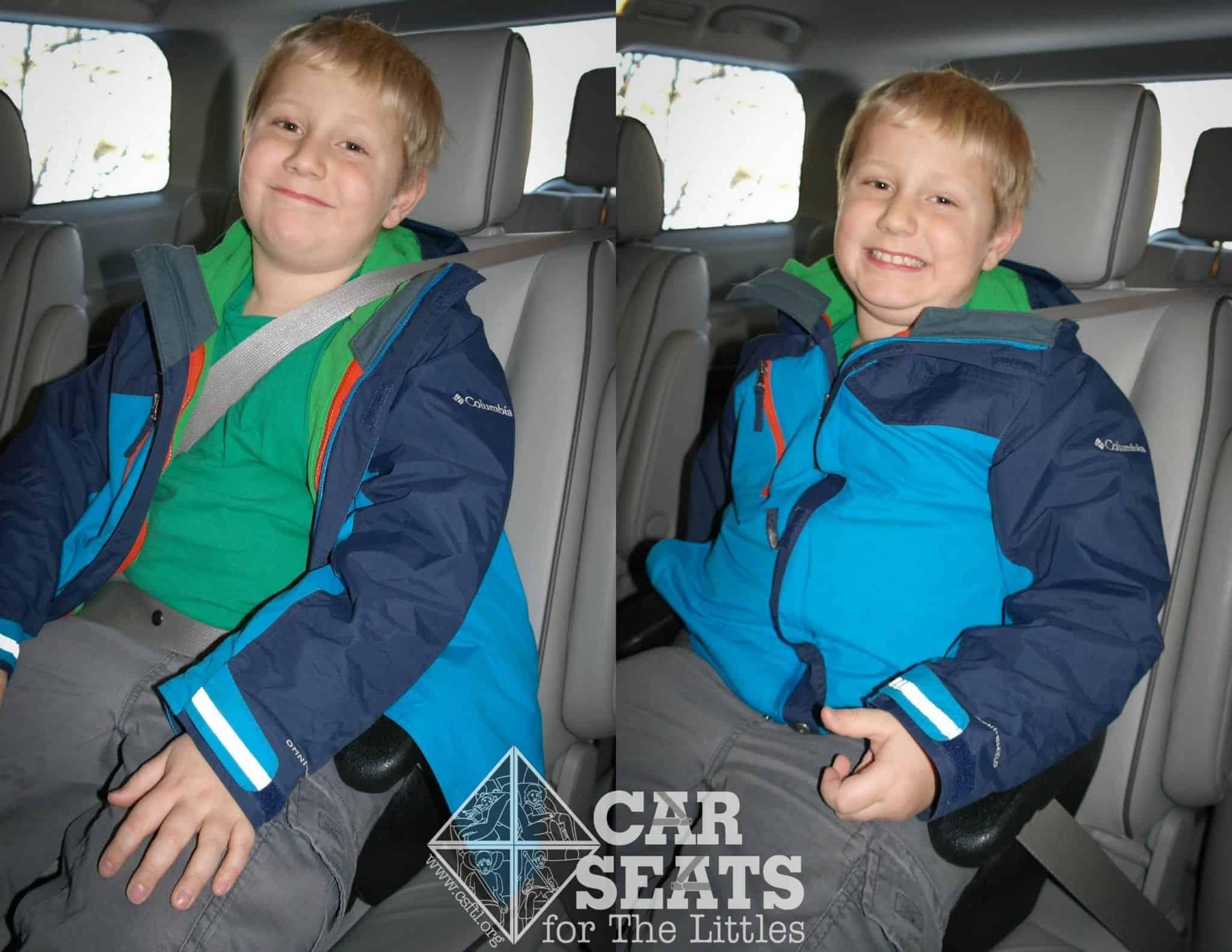 Can Children Wear Winter Coats In A Car Seat