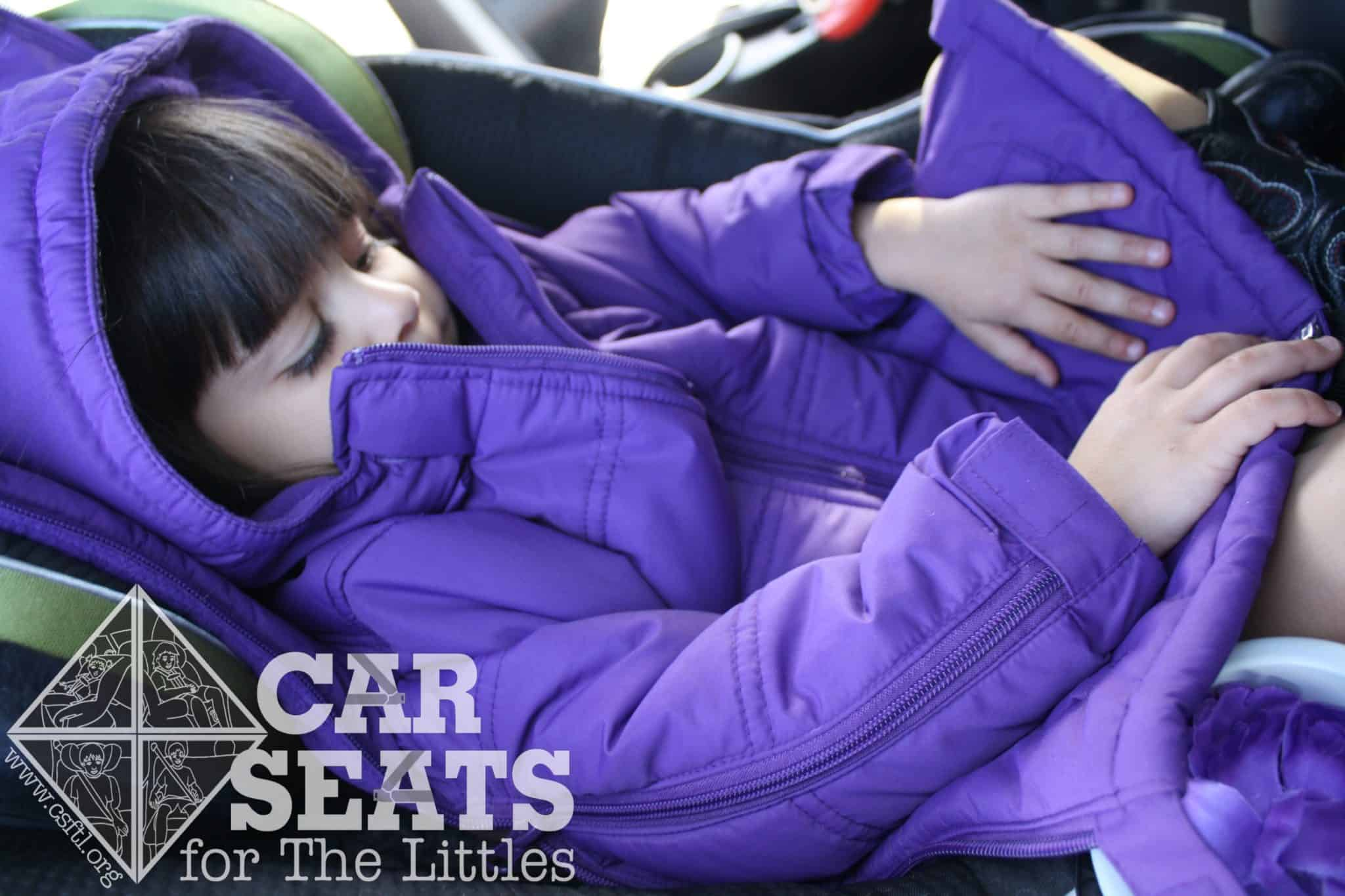 car seats for the littles the cozywoggle car seat friendly jacket for your littlesthe. Black Bedroom Furniture Sets. Home Design Ideas