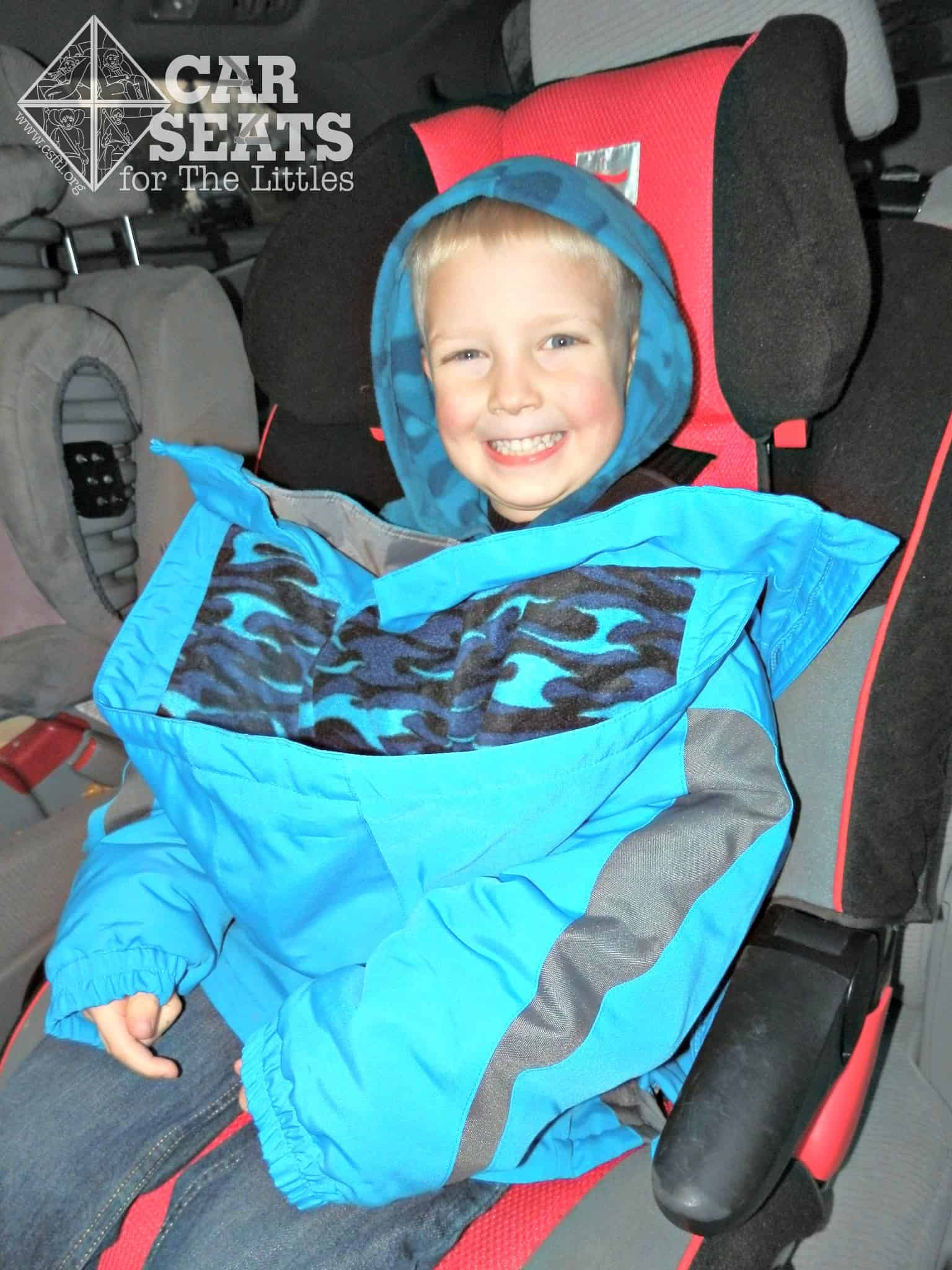Not Wearing A Coat In Car Seat