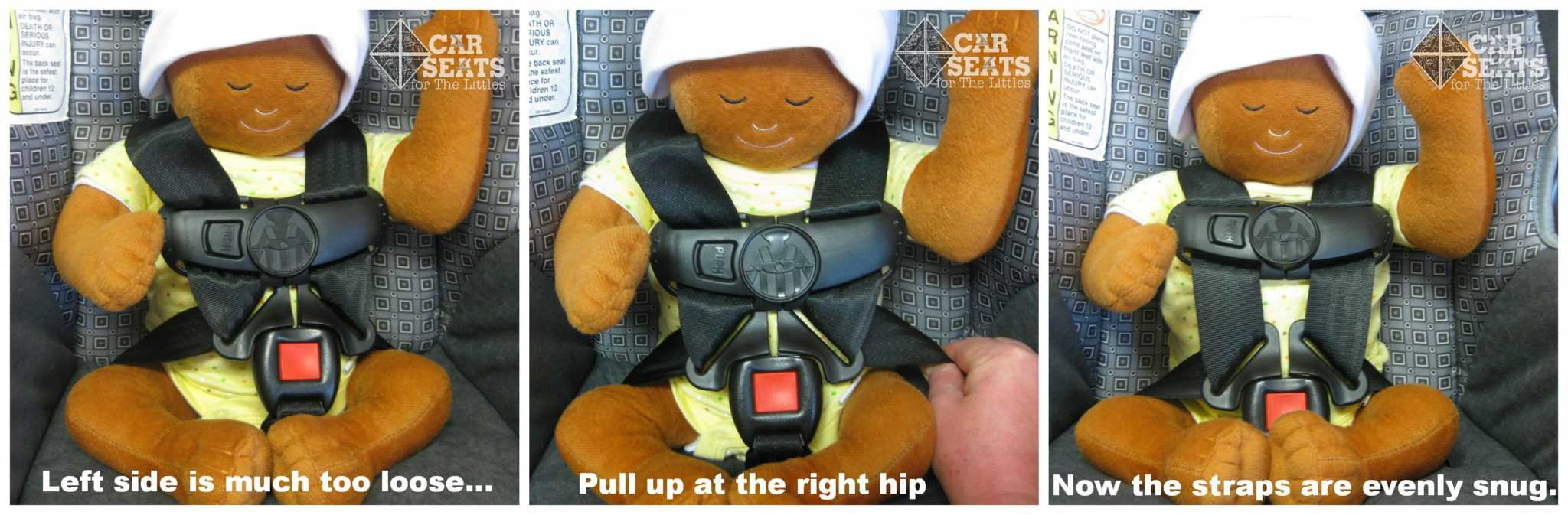 car seats for the littles help my car seat harness is uneven help my car seat harness is. Black Bedroom Furniture Sets. Home Design Ideas