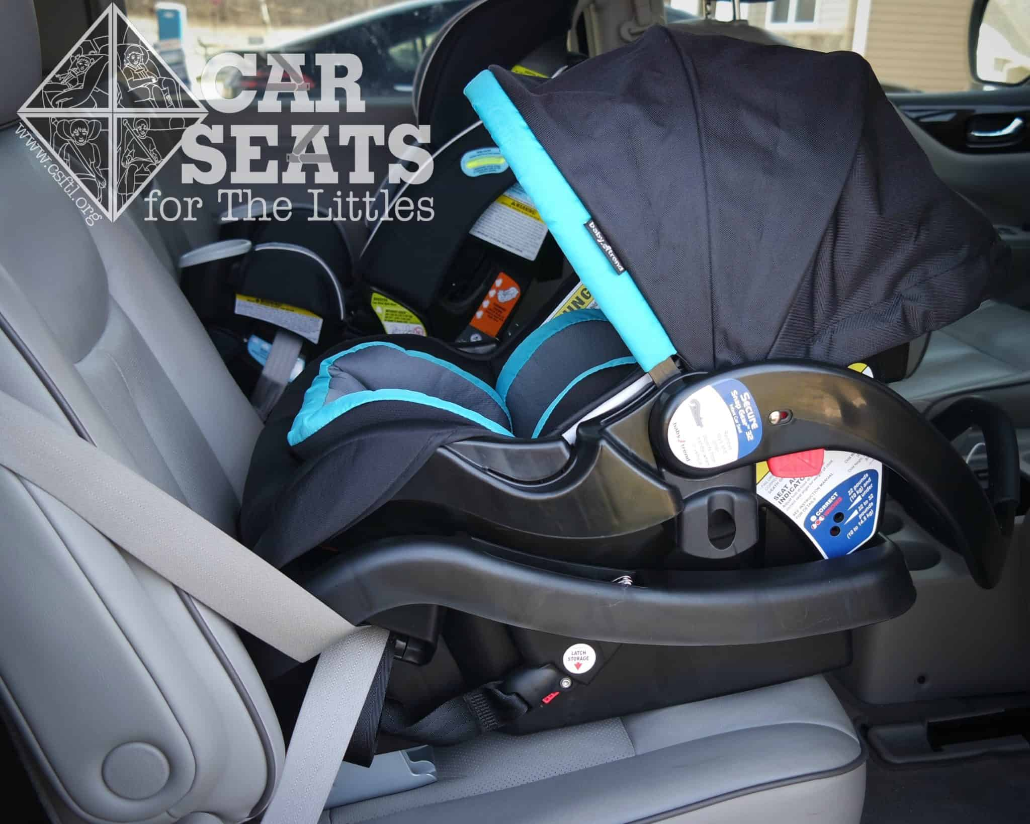Car Seats For The Littles Baby Trend Secure Snap Gear 32