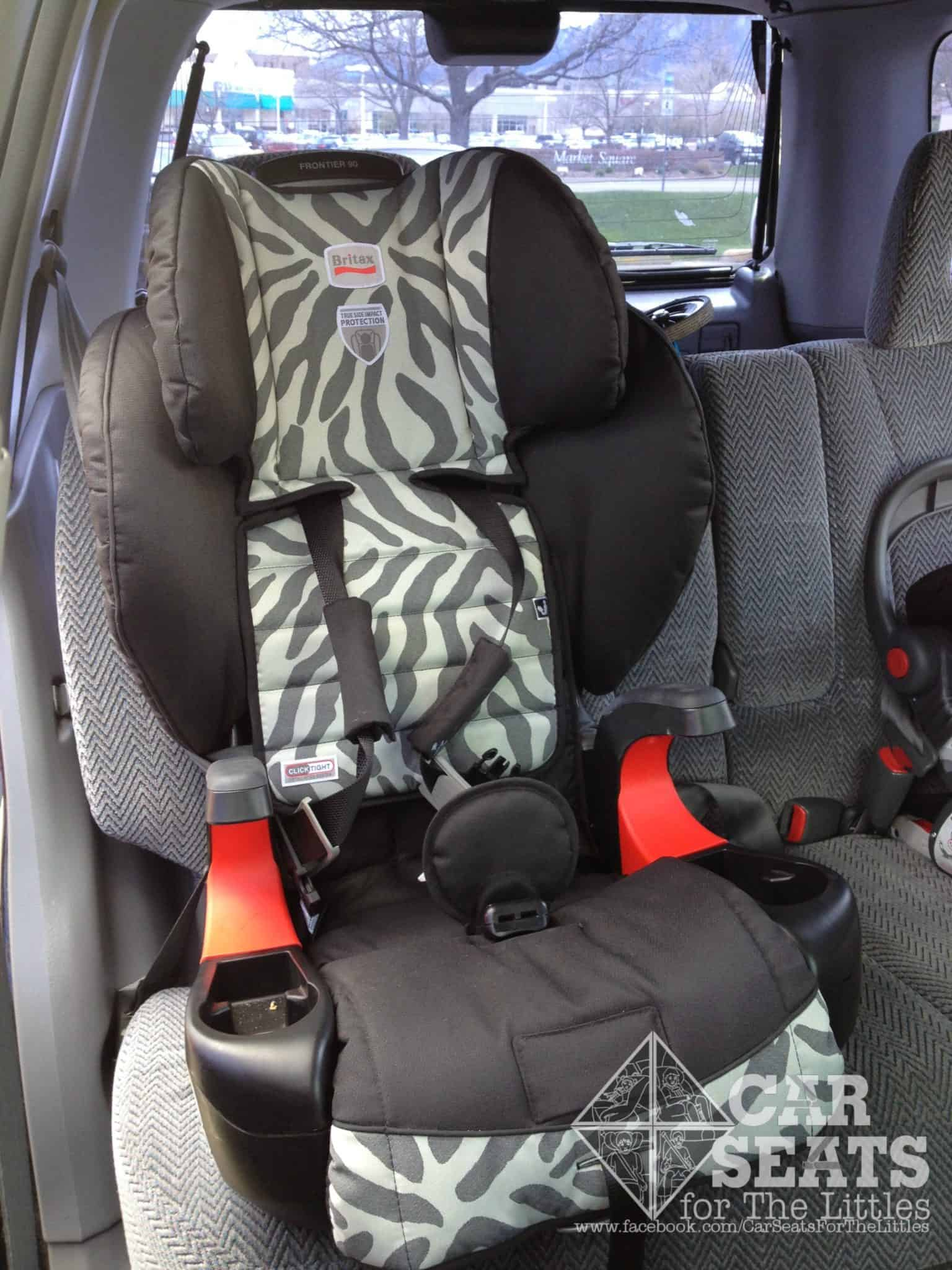 Britax Frontier 90, Frontier 85, booster, high back booster, no back booster, hbb, nbb, click tight, combination seat