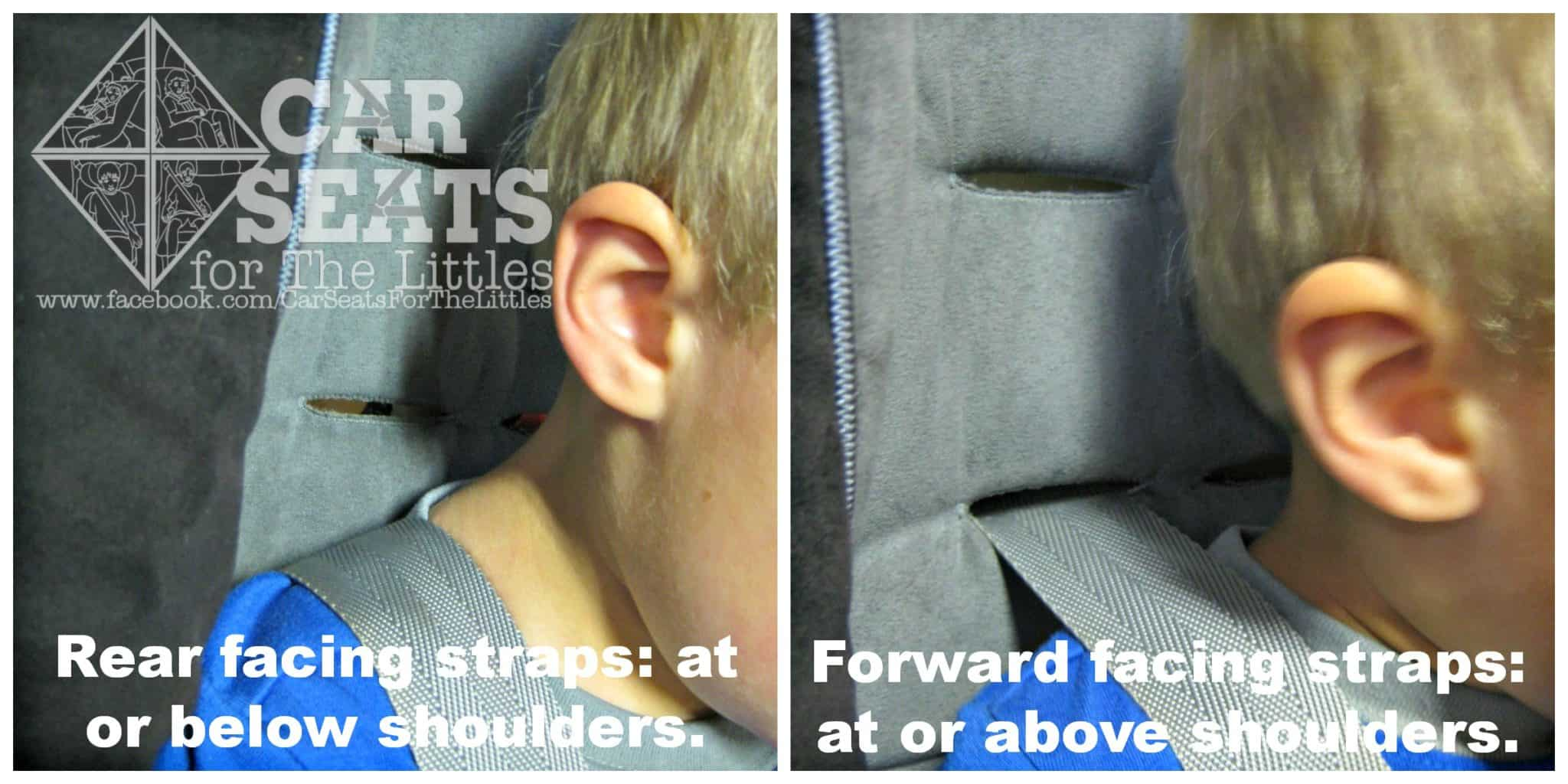 Forward Facing Car Seat Test