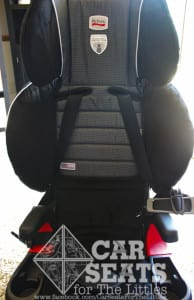 Britax Frontier has nine different harness positions