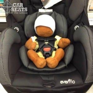 Evenflo SureRide newborn doll