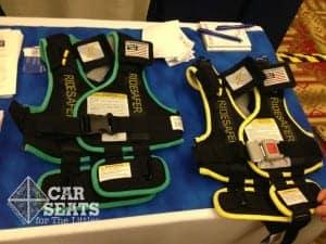 RideSafer travel vest 2, ride safer, travel vest, 3 across