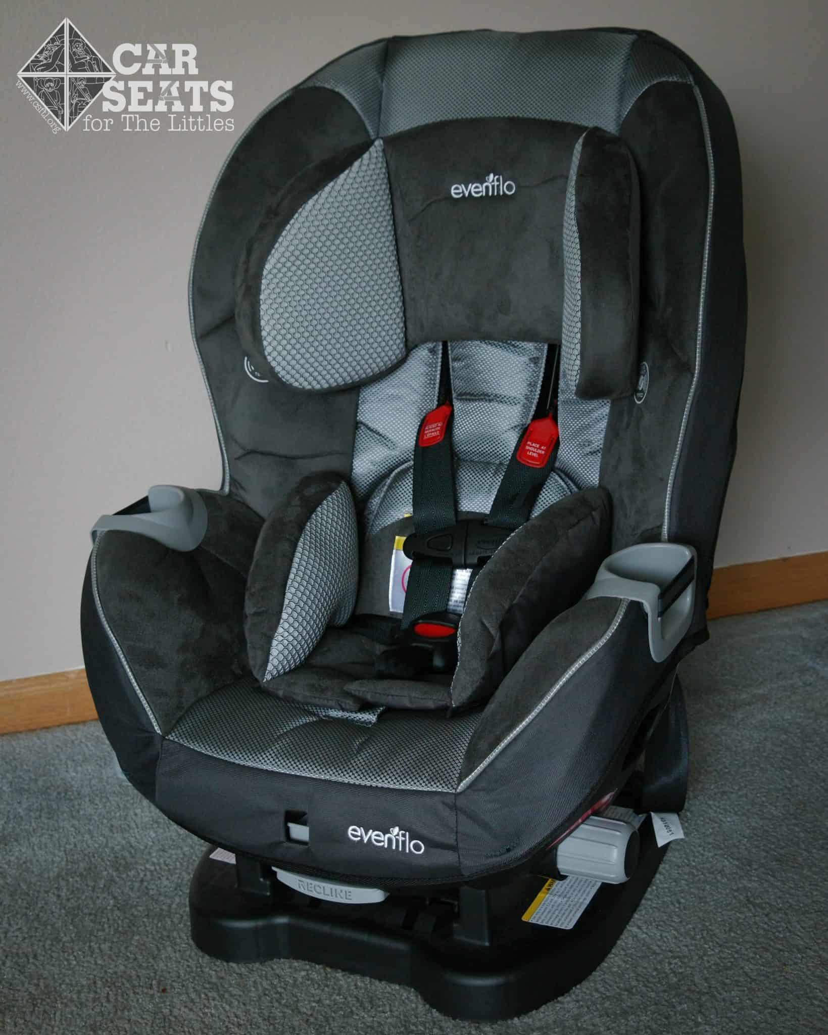 evenflo triumph review car seats for the littles. Black Bedroom Furniture Sets. Home Design Ideas