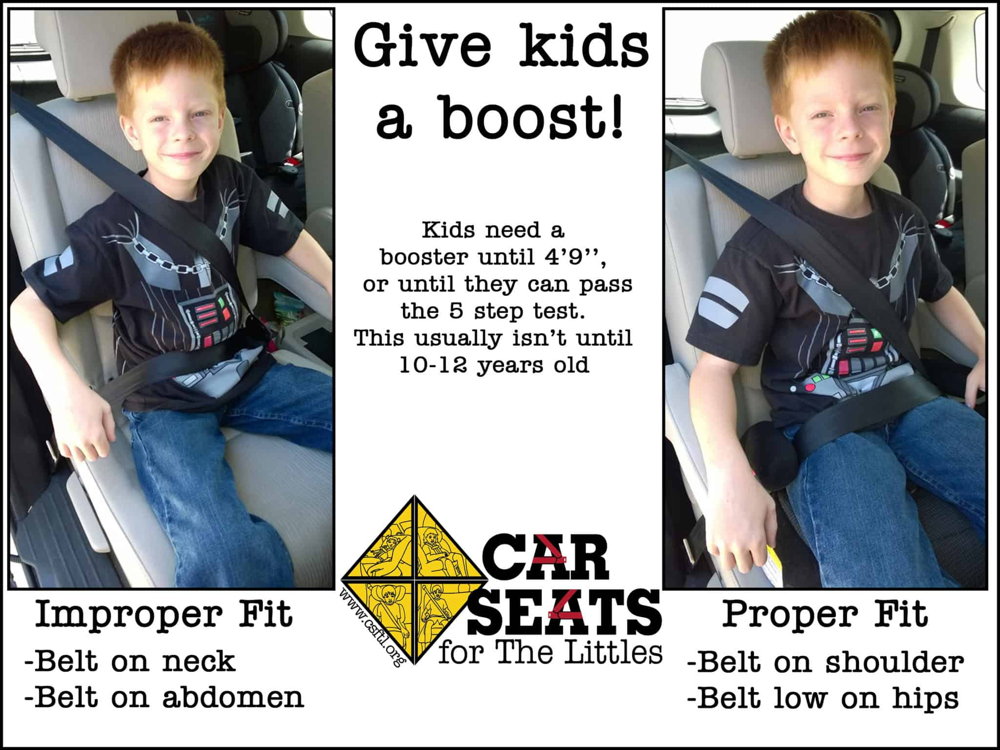 Booster Seats: the Science Junkie's Guide - Car Seats For