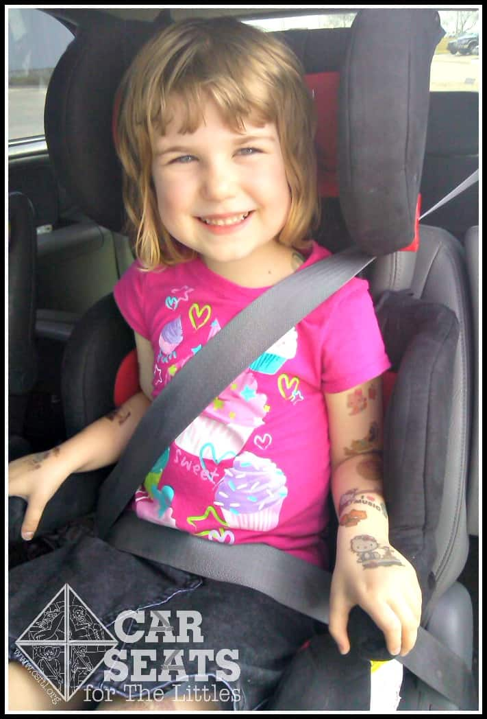 Proper Booster Fit - Car Seats For The Littles