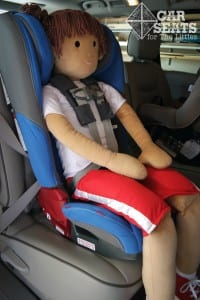 """This Huggable Images Doll represents 6 year old, 46 lbs, 48"""" child."""