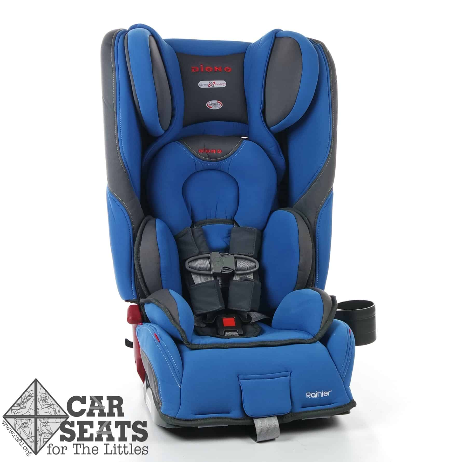 Narrow Booster Seat >> Diono Rainier Review - Car Seats For The Littles