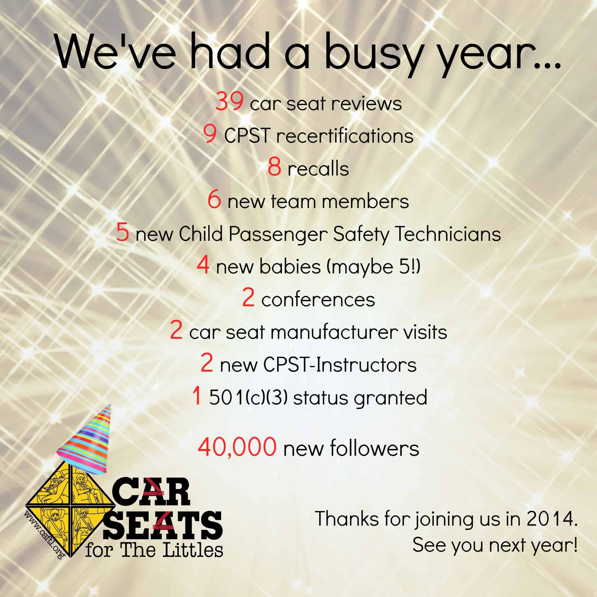 2014 year in review car seats for the littles 1betcityfo Gallery