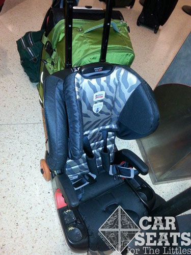 Travelling With The Britax Frontier