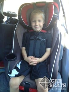 Graco Headwise- 5.5 years, 41 pounds., 42 inches