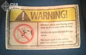 seat warning