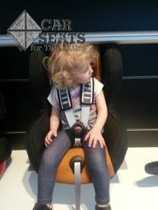 European car seat