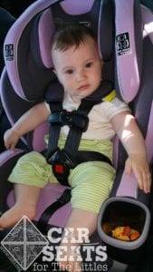 Graco Extend2Fit: 5 months old with padding