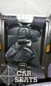 Graco Extend2Fit harness storage