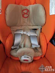 Cybex Cloud Q - correct positioning of infant insert
