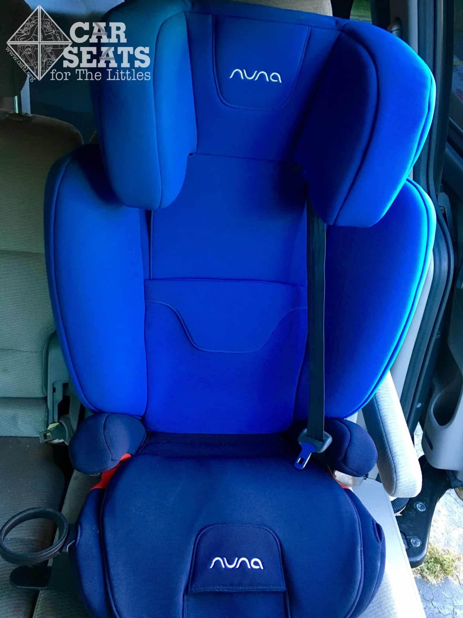 High Back Booster Car Seat >> Nuna AACE Review - Car Seats For The Littles