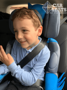 KidsEmbrace Combination Harness to Booster car seat - not ready for a booster!