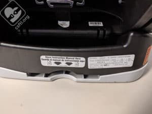 Graco 4Ever date of manufacture label