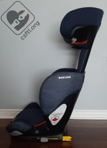 Maxi-Cosi Rodifix with back reclined