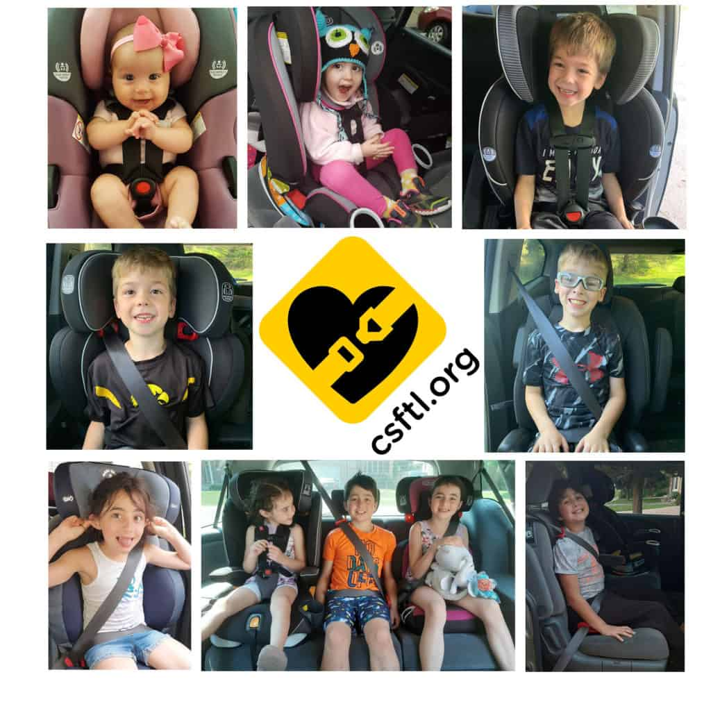 Recommended Car Seats