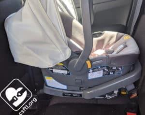 Century Carry On 35 LX vehicle seat belt